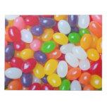 Fondo de los Jellybeans - habas de jalea de Pascua Libreta Para Notas