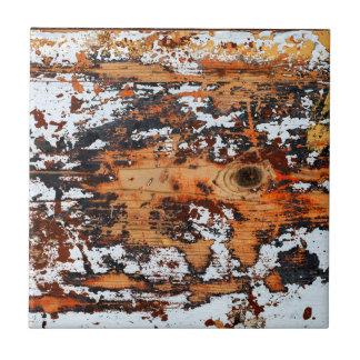 Fondo de madera abstracto azulejo cuadrado pequeño