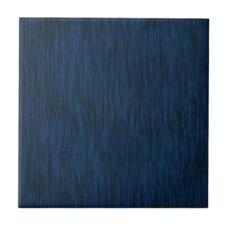 Fondo de madera áspero del grano en azul profundo azulejo cuadrado pequeño
