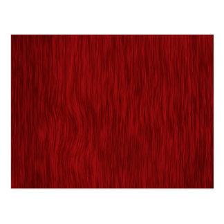 Fondo de madera áspero del grano - rojo postales