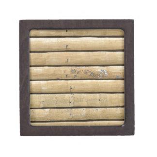 fondo de madera caja de recuerdo de calidad