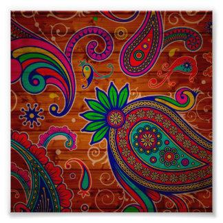 Fondo de madera colorido floral de la textura del fotografía