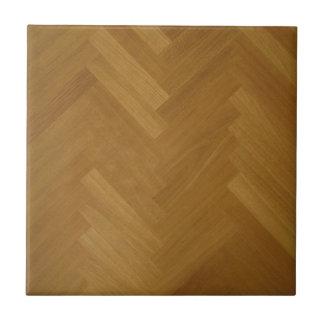 Fondo de madera de la textura del panel de piso azulejo cuadrado pequeño