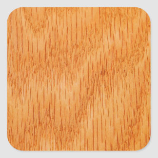 Fondo de madera - grano de bambú liso modificado calcomanía cuadradas