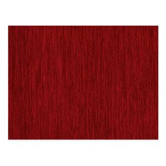 Fondo de madera granoso rojo postales