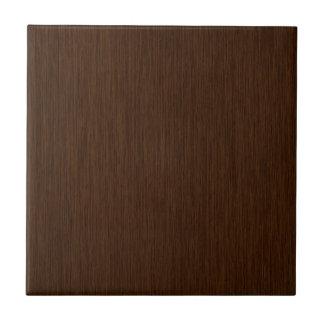 Fondo de madera granoso rústico oscuro azulejo cuadrado pequeño