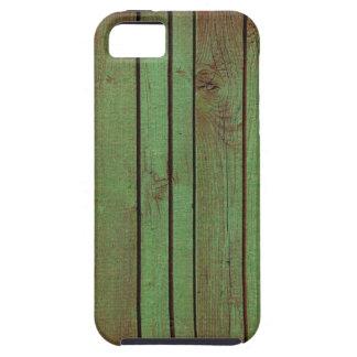 fondo de madera llevado grundgy iPhone 5 fundas