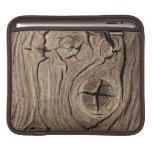 Fondo de madera manga de iPad