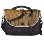 Fondo de madera oxidado bolsas para portatil