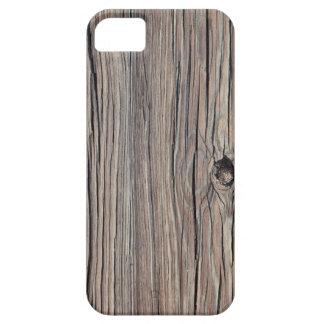 Fondo de madera resistido - modificado para requis iPhone 5 Case-Mate funda