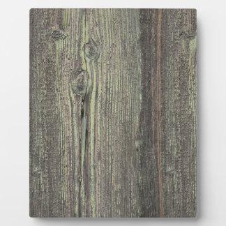 Fondo de madera resistido oscuridad rústica placas de plastico