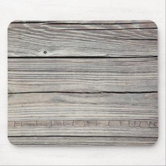 Fondo de madera resistido vintage - viejo tablero alfombrillas de ratón