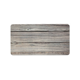 Fondo de madera resistido vintage - viejo tablero etiqueta de dirección
