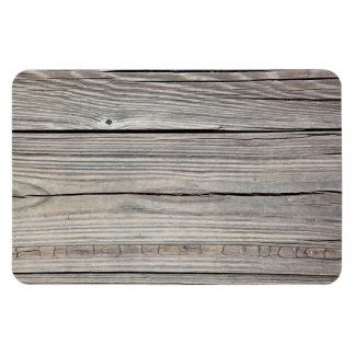 Fondo de madera resistido vintage - viejo tablero imán de vinilo