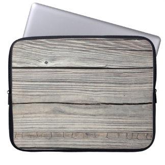 Fondo de madera resistido vintage - viejo tablero mangas computadora