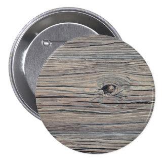 Fondo de madera resistido vintage - viejo tablero pin redondo 7 cm