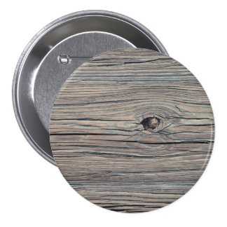 Fondo de madera resistido vintage - viejo tablero pin redondo de 3 pulgadas
