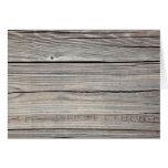 Fondo de madera resistido vintage - viejo tablero felicitacion
