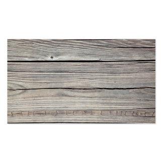 Fondo de madera resistido vintage - viejo tablero tarjeta de visita