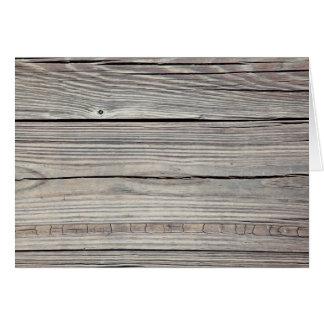 Fondo de madera resistido vintage - viejo tablero tarjeta pequeña