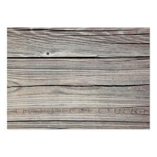 Fondo de madera resistido vintage - viejo tablero tarjetas de visita grandes