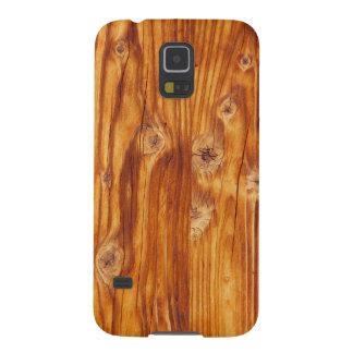 Fondo de madera rústico - caja de la galaxia S5 de