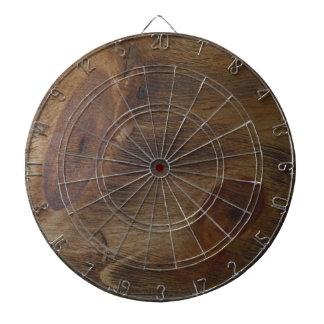 Fondo de madera rústico nudoso de la mirada de Bro