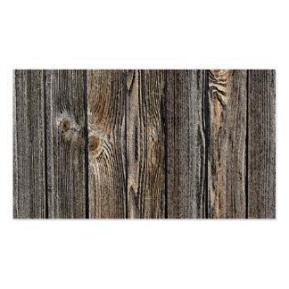 Fondo de madera tarjetas de negocios