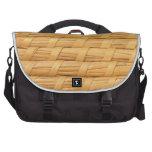Fondo de mimbre bolsas para portatil