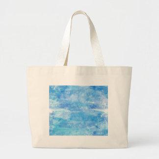 Fondo de moda de la pintura de la acuarela del bolsa tela grande