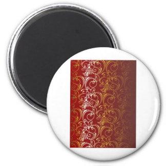 fondo de oro imán redondo 5 cm