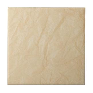 Fondo de papel de la arruga azulejo