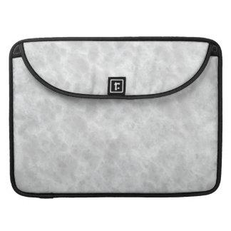 Fondo de piedra blanco cristalino del modelo - fundas para macbooks