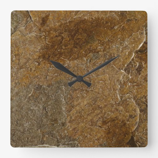 Fondo de piedra de la pizarra - espacio en blanco  relojes de pared