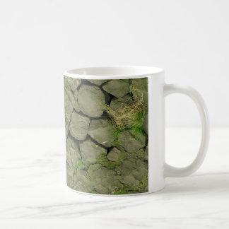 Fondo de piedra de la textura de Rockwall Taza