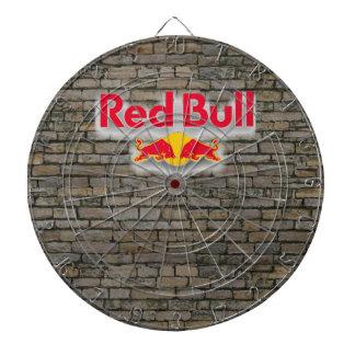 Fondo de piedra de Red Bull del Dartboard