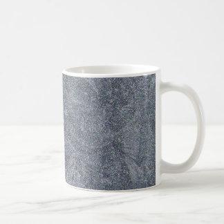 Fondo de piedra gris cepillado de la textura del g taza