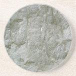 Fondo de piedra gris de la textura de Rockwall Posavasos Manualidades