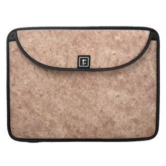 Fondo de piedra rosado del modelo del desierto fundas para macbooks