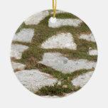 fondo de piedras ornaments para arbol de navidad