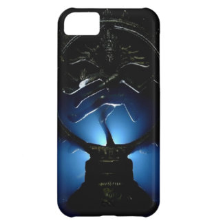 Fondo de señor Shiva Blue Funda Para iPhone 5C