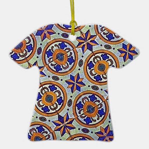 Fondo decorativo de la tela ornamentos de reyes magos