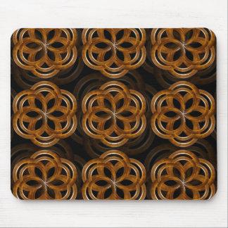 Fondo decorativo de madera refinado tapetes de raton