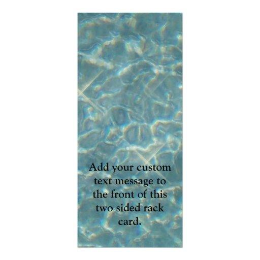 Fondo del agua azul plantilla de lona