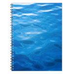 Fondo del agua azul - plantilla modificada para re cuaderno