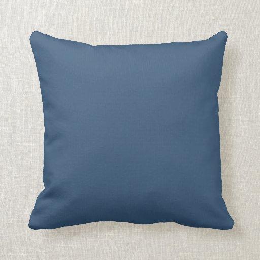 Fondo del azul de acero cojín decorativo