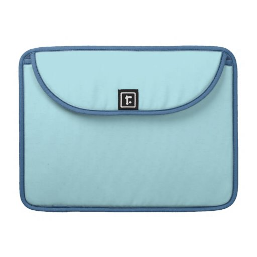 Fondo del azul de la ventisca funda para macbooks