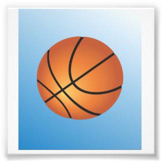 Fondo del azul del icono del baloncesto cojinete