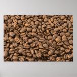 Fondo del café impresiones