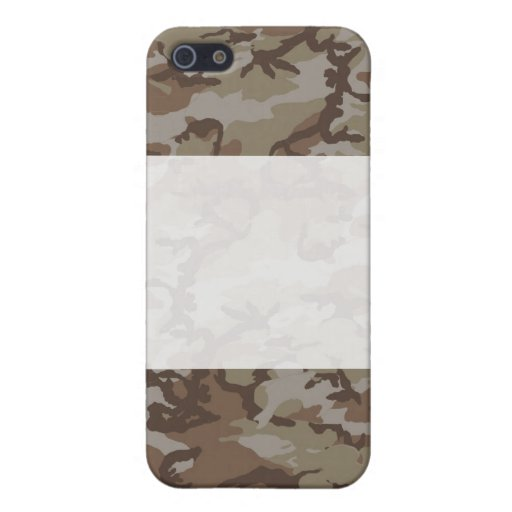 Fondo del camuflaje del desierto iPhone 5 cobertura